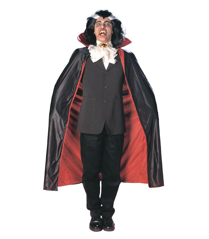 DELUXE LINED CAPES WITH COLLAR 135 cm