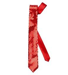 RED SEQUIN NECKTIE