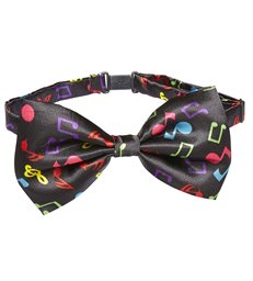 COPY OF MUSIC NOTE BOW TIE