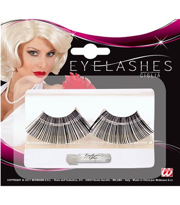 JUMBO BLACK EYELASHES