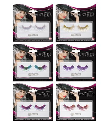EYELASHES METALLIC LONG - 6 colours