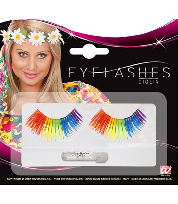 EYELASHES RAINBOW WITH ADHESIVE