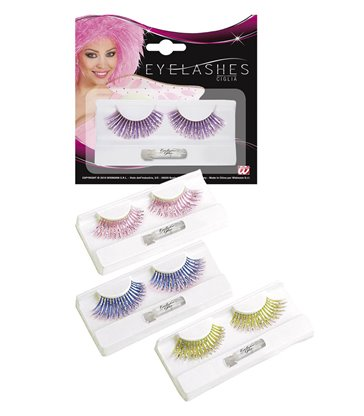 EYELASHES LASER FASHION - (PinkLilacTurquoiseGreen)